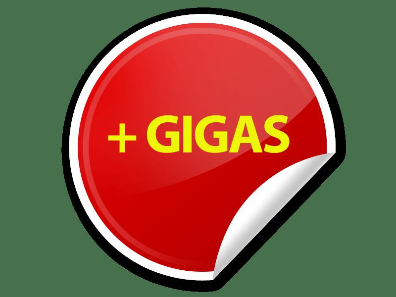 sticker GIGAS
